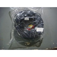CABLE CAMARA SEGURIDAD VIDEO Y CORRIENTE 80M
