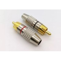 CONECTOR RCA USA CABLE MAXIMA 63MM