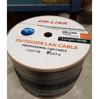 CABLE RED EXTERNO 100% COBRE 056MM CAT 6  305M